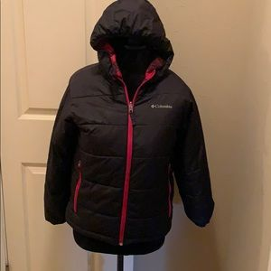 Columbia Reversible Puff Coat Jacket 10 12